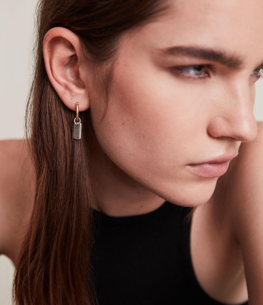 Women's Ilah Earrings (warm_brass_silver) - Image 3