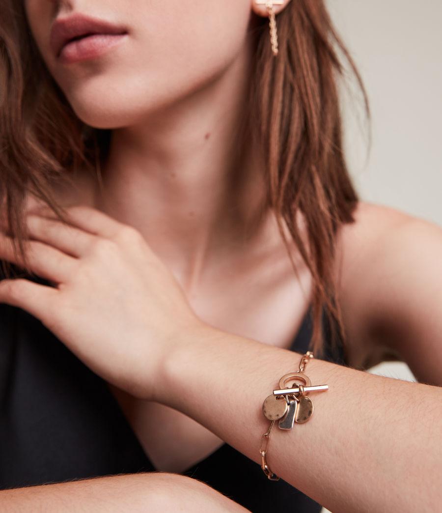 Women's Rana Bracelet (warm_brass_silver) - Image 1