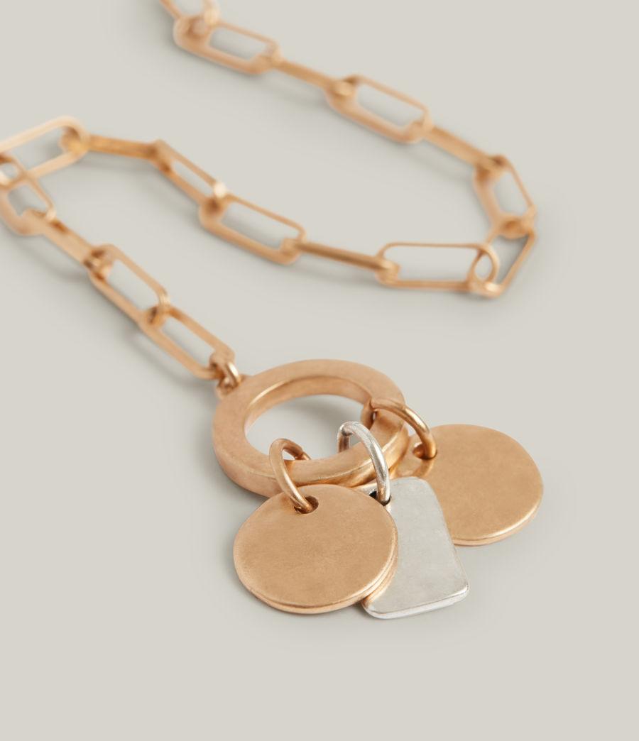 Women's Rana Bracelet (warm_brass_silver) - Image 2