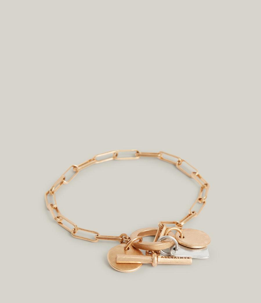 Women's Rana Bracelet (warm_brass_silver) - Image 3
