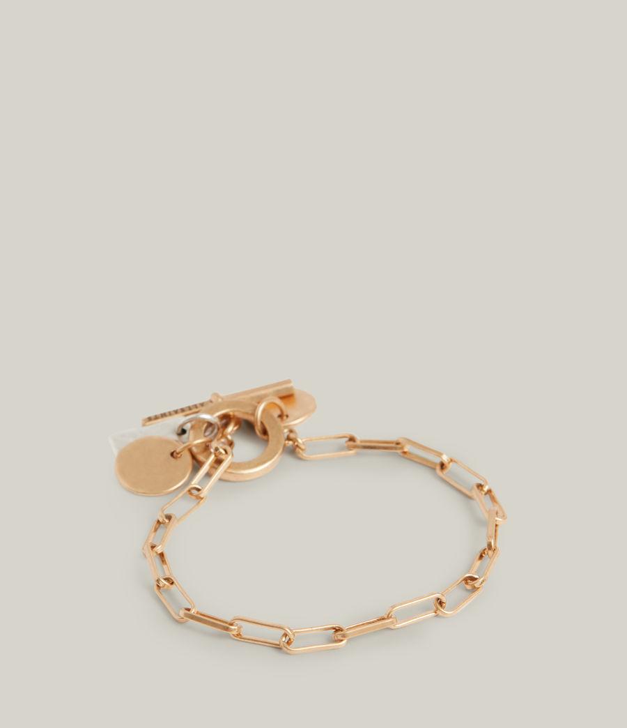 Women's Rana Bracelet (warm_brass_silver) - Image 4