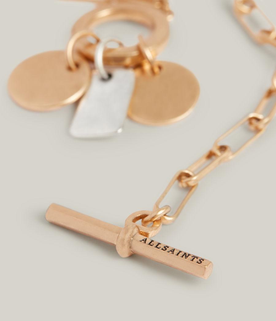 Women's Rana Bracelet (warm_brass_silver) - Image 5