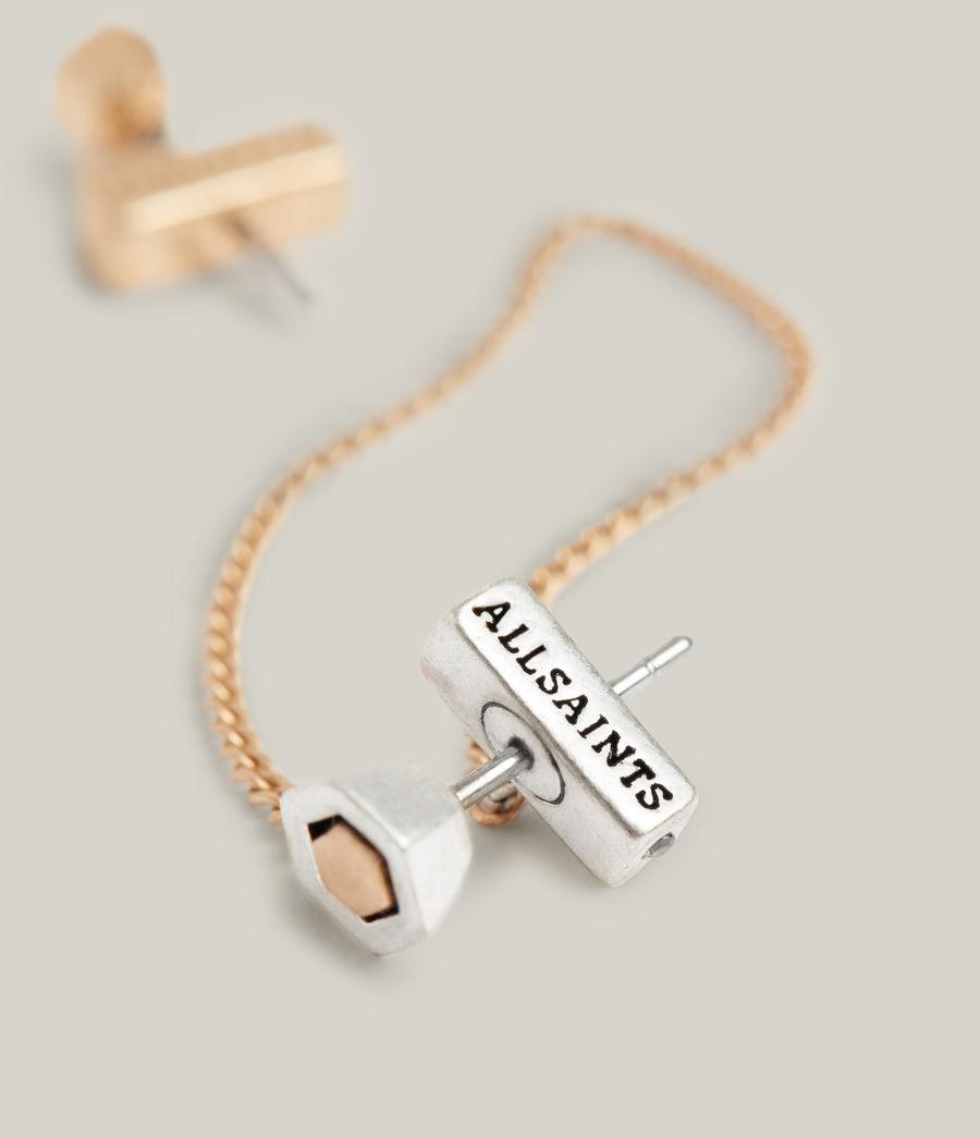 Damen Thora Earrings (warm_brass_silver) - Image 3