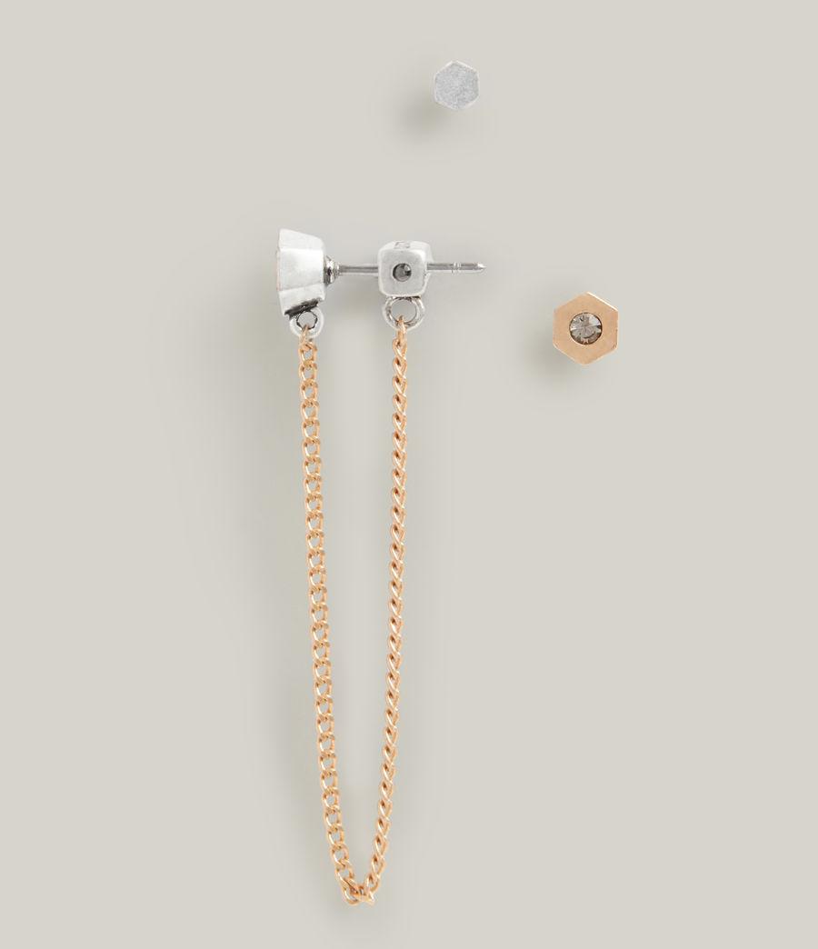 Damen Thora Earrings (warm_brass_silver) - Image 4