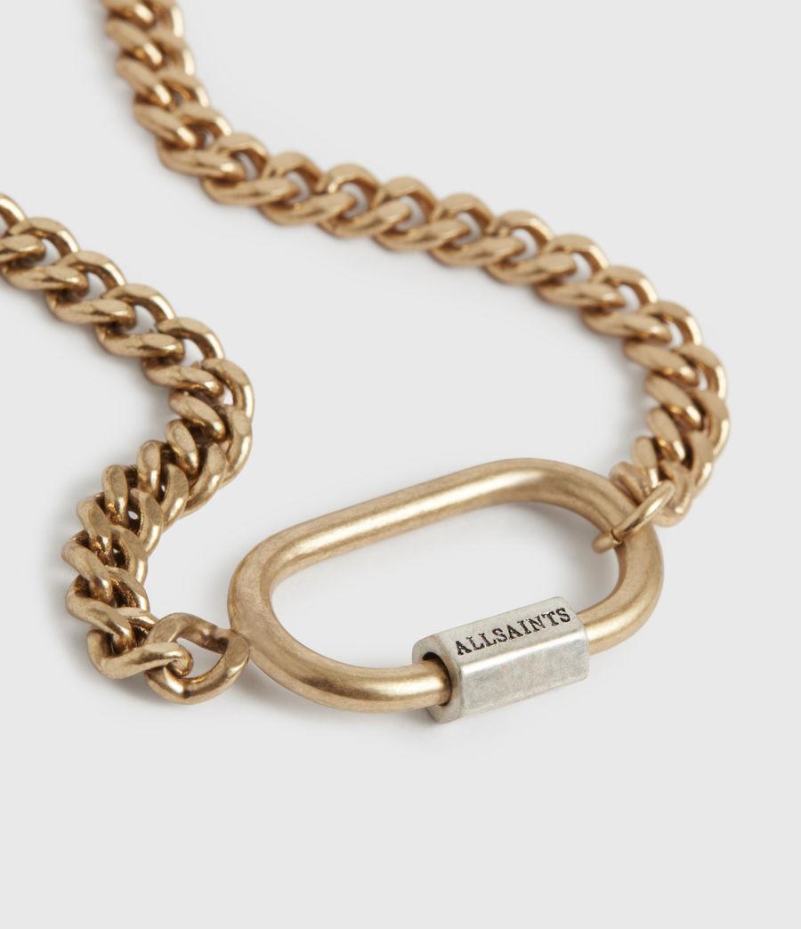 Women's Emery Gold-Tone Chain Bracelet (warm_brass) - Image 1