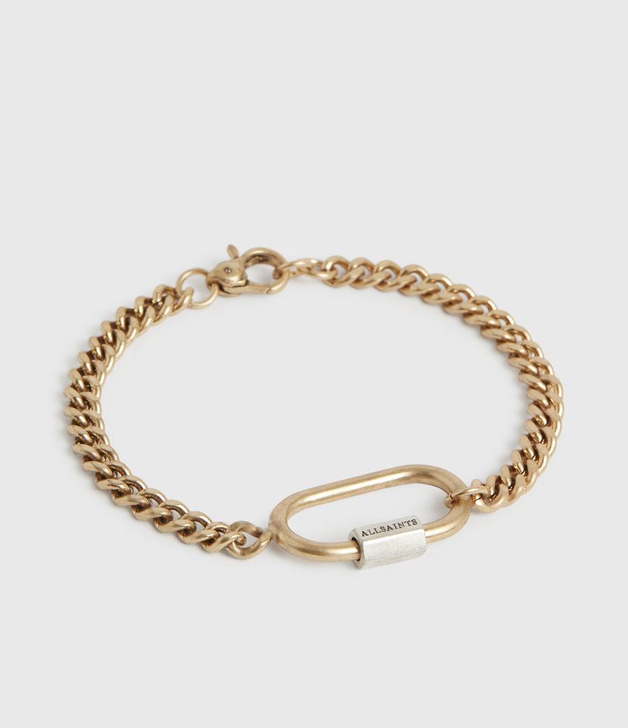 Women's Emery Gold-Tone Chain Bracelet (warm_brass) - Image 2