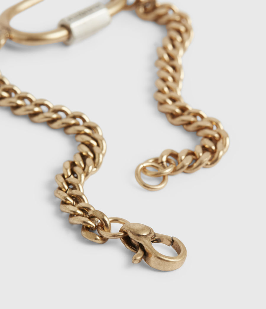 Women's Emery Gold-Tone Chain Bracelet (warm_brass) - Image 3