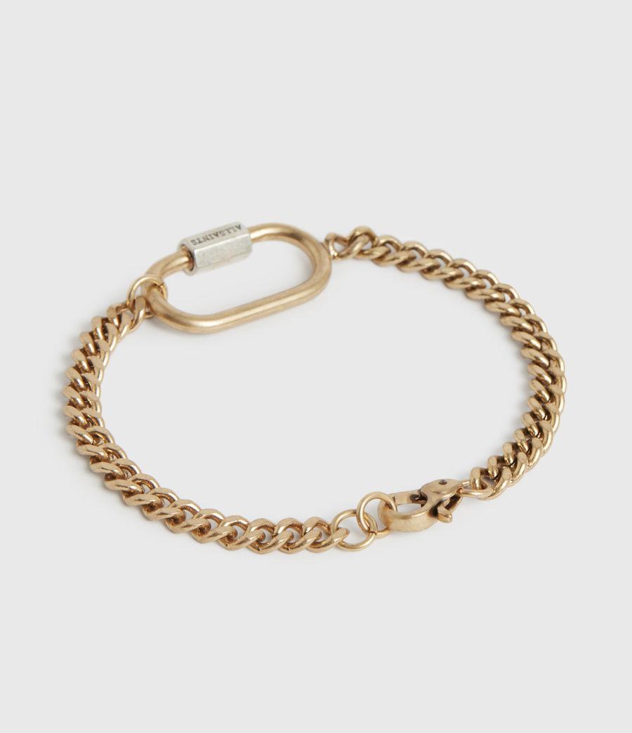 Women's Emery Gold-Tone Chain Bracelet (warm_brass) - Image 4