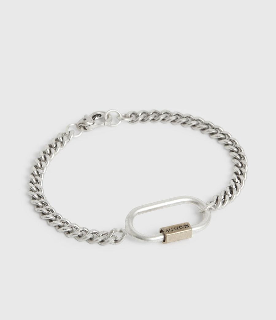 Damen Emery Silver-Tone Chain Bracelet (warm_silver) - Image 2