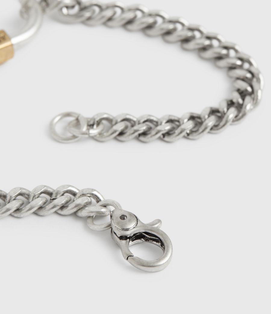 Women's Emery Silver-Tone Chain Bracelet (warm_silver) - Image 3