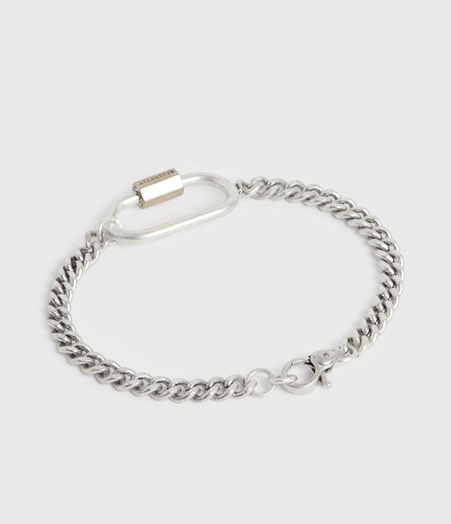 Women's Emery Silver-Tone Chain Bracelet (warm_silver) - Image 4