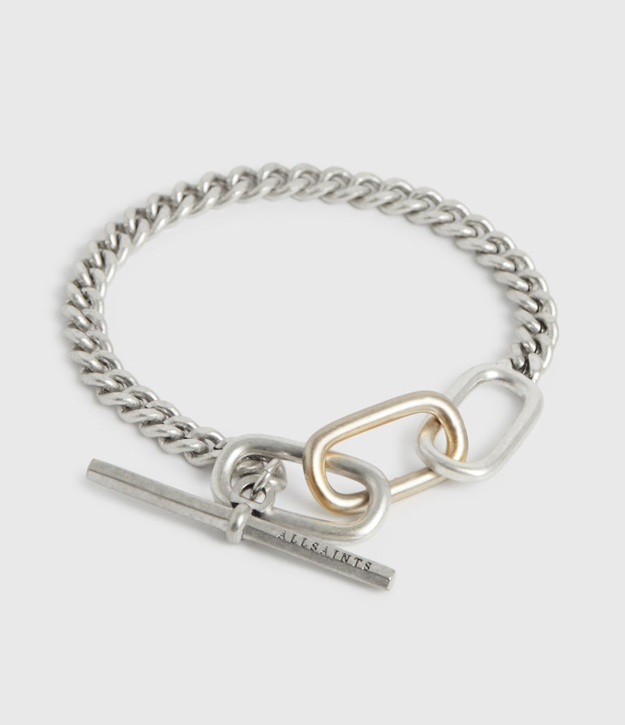 Womens Shamir Silver-Tone Chain Bracelet (warm_silver) - Image 1