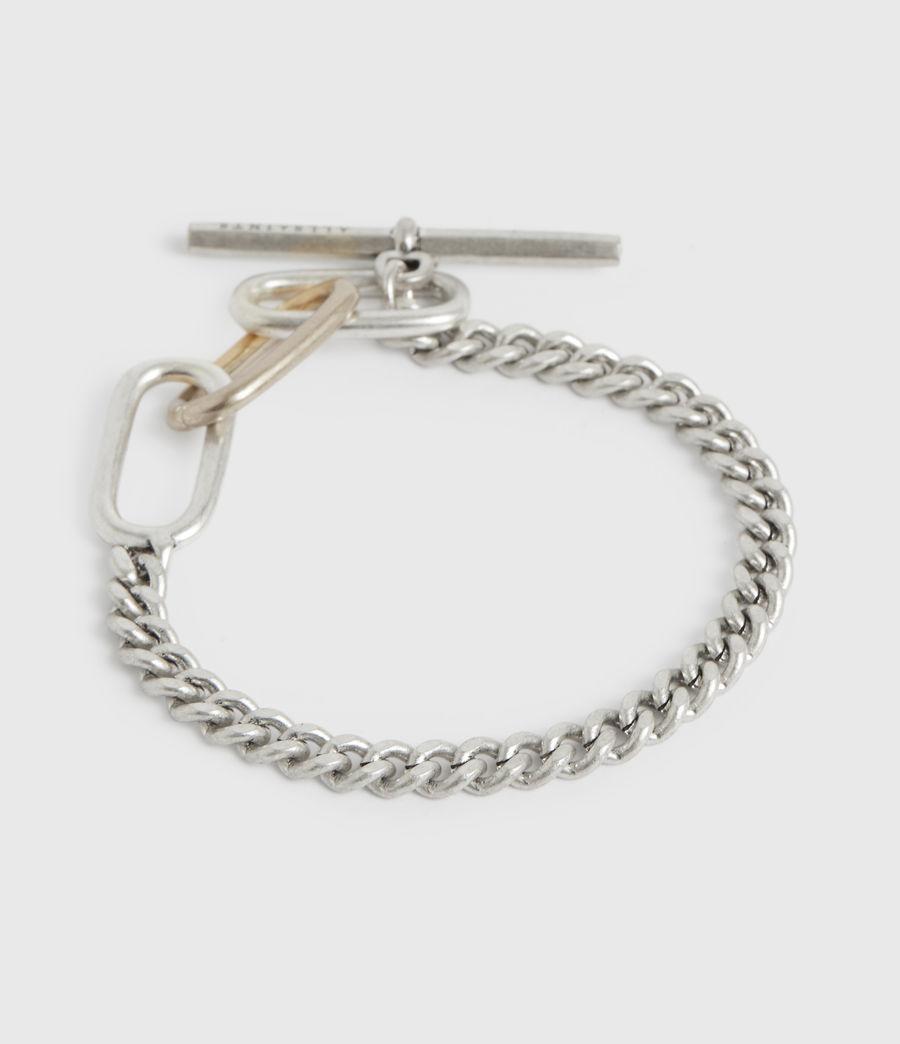 Womens Shamir Silver-Tone Chain Bracelet (warm_silver) - Image 4