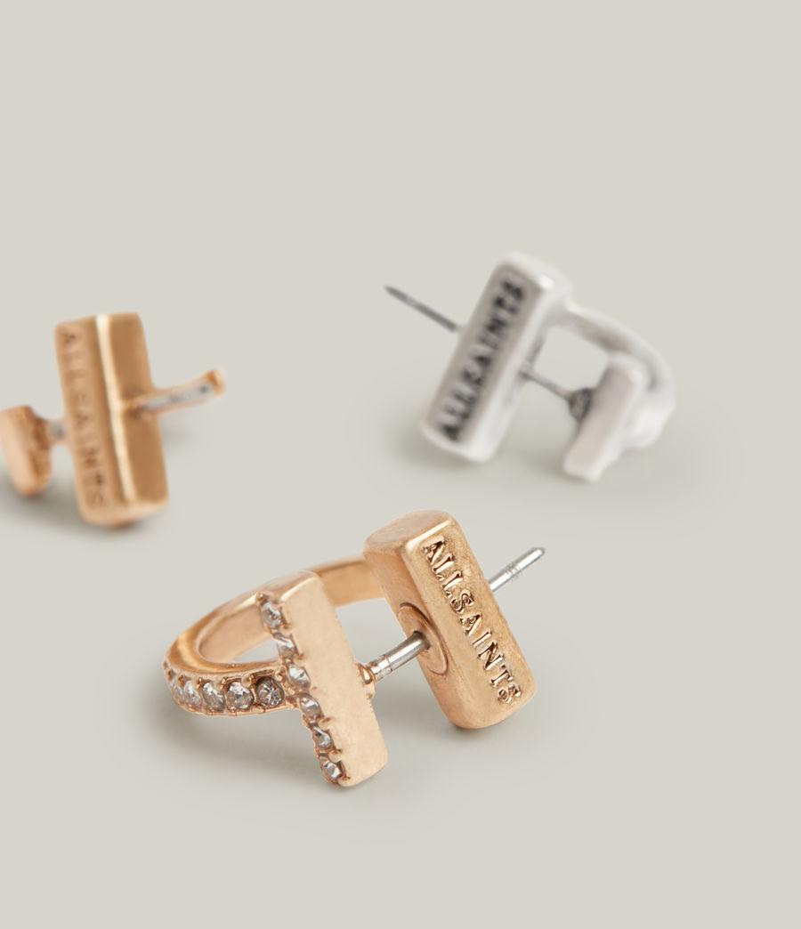 Women's Saoirse Earrings (warm_brass_silver) - Image 1