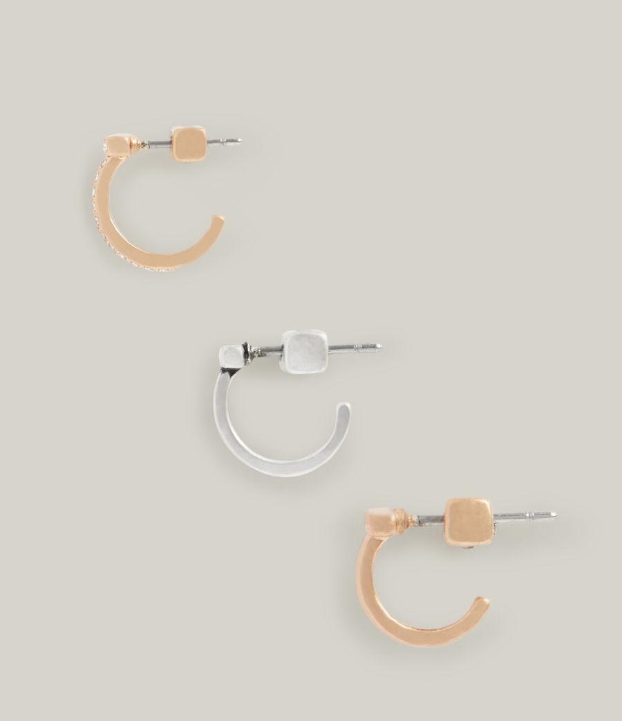 Women's Saoirse Earrings (warm_brass_silver) - Image 2