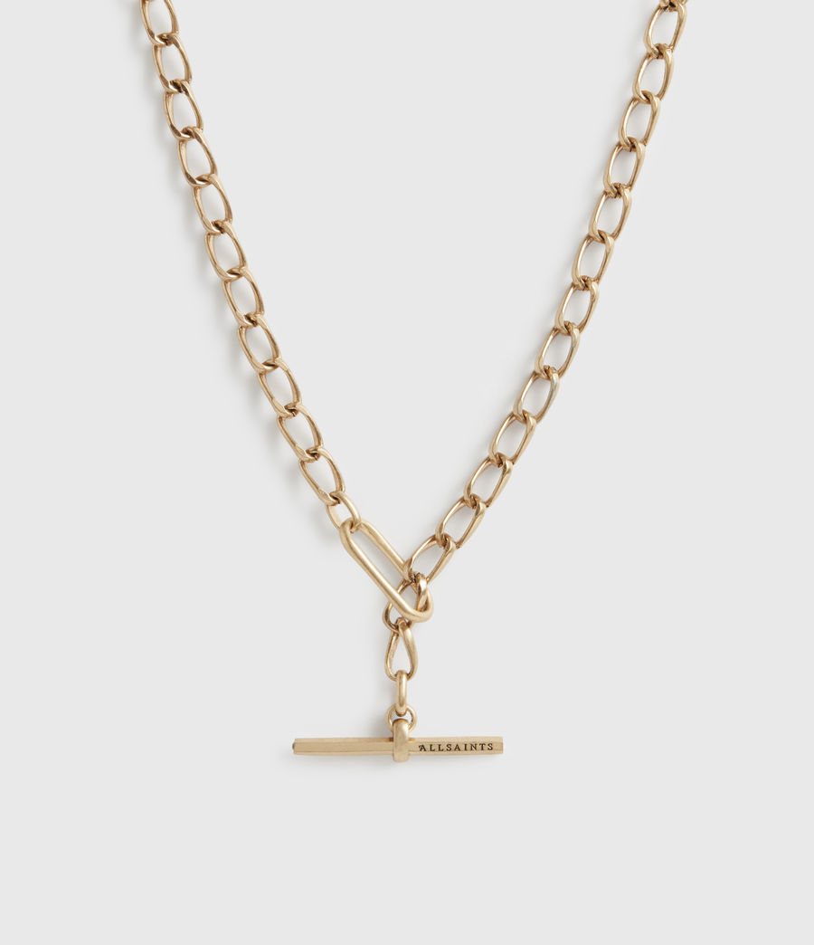 Women's Eartha Gold-Tone Chain Necklace (warm_brass) - Image 1