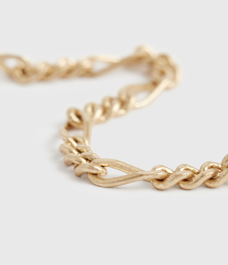 Damen Swag Gold-Tone Chain Earrings (warm_brass) - Image 3