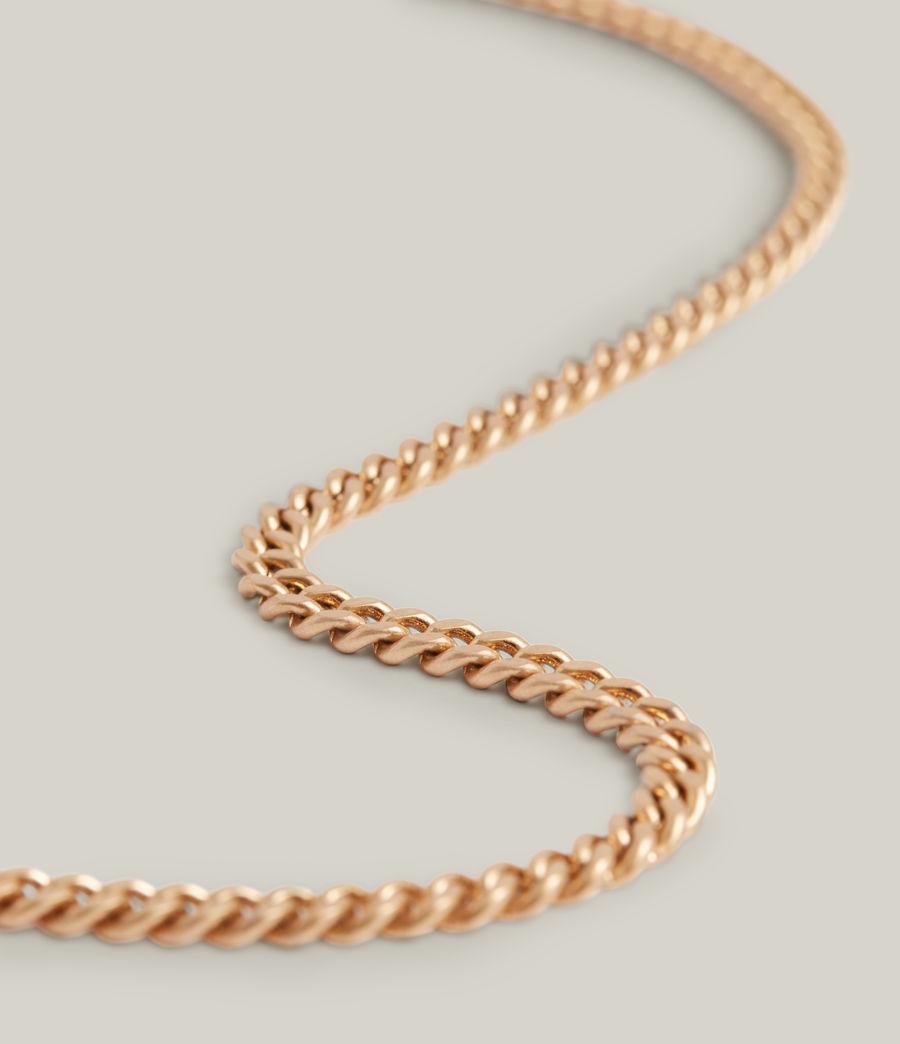 Women's Elena Necklace (warm_brass_silver) - Image 4