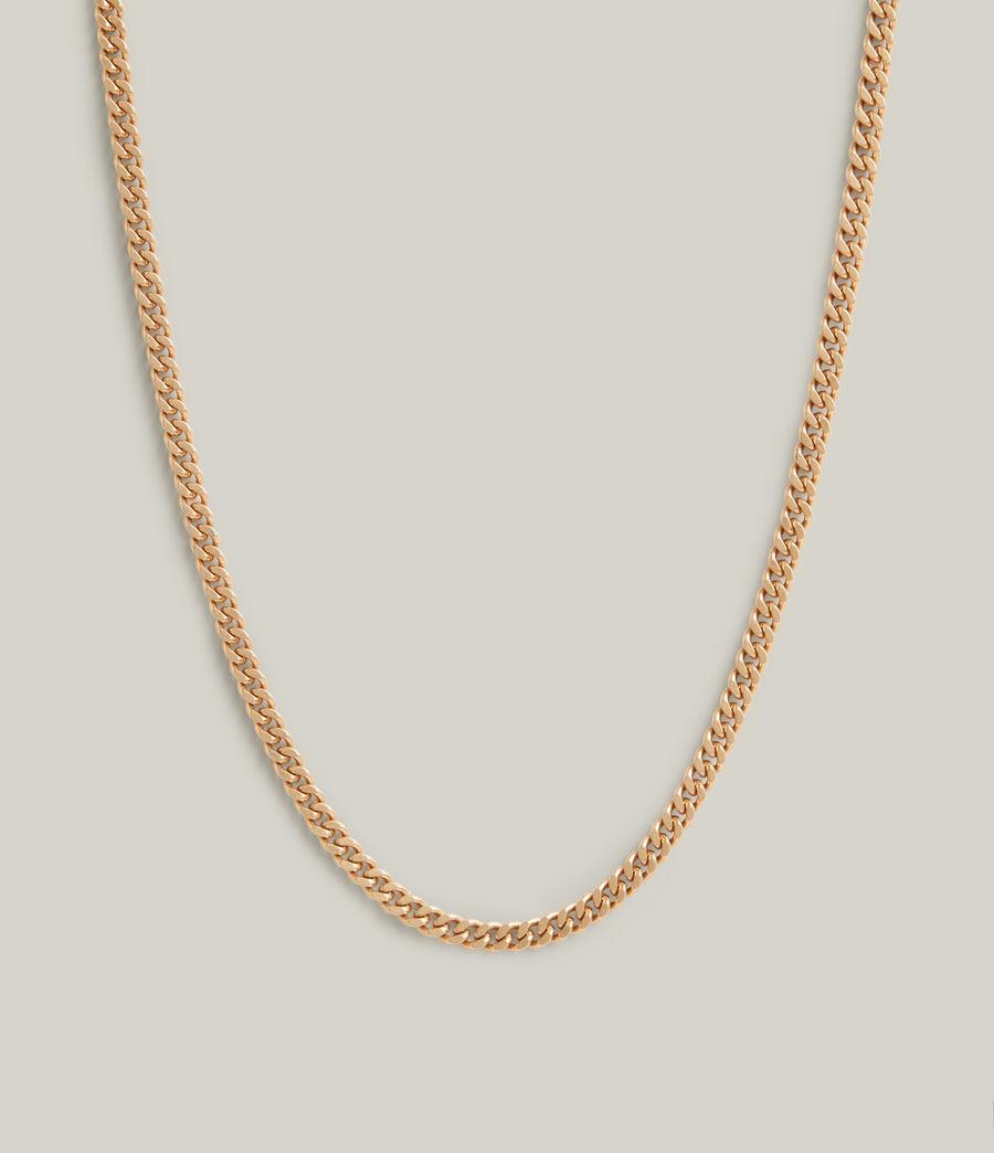 Women's Elena Necklace (warm_brass_silver) - Image 5