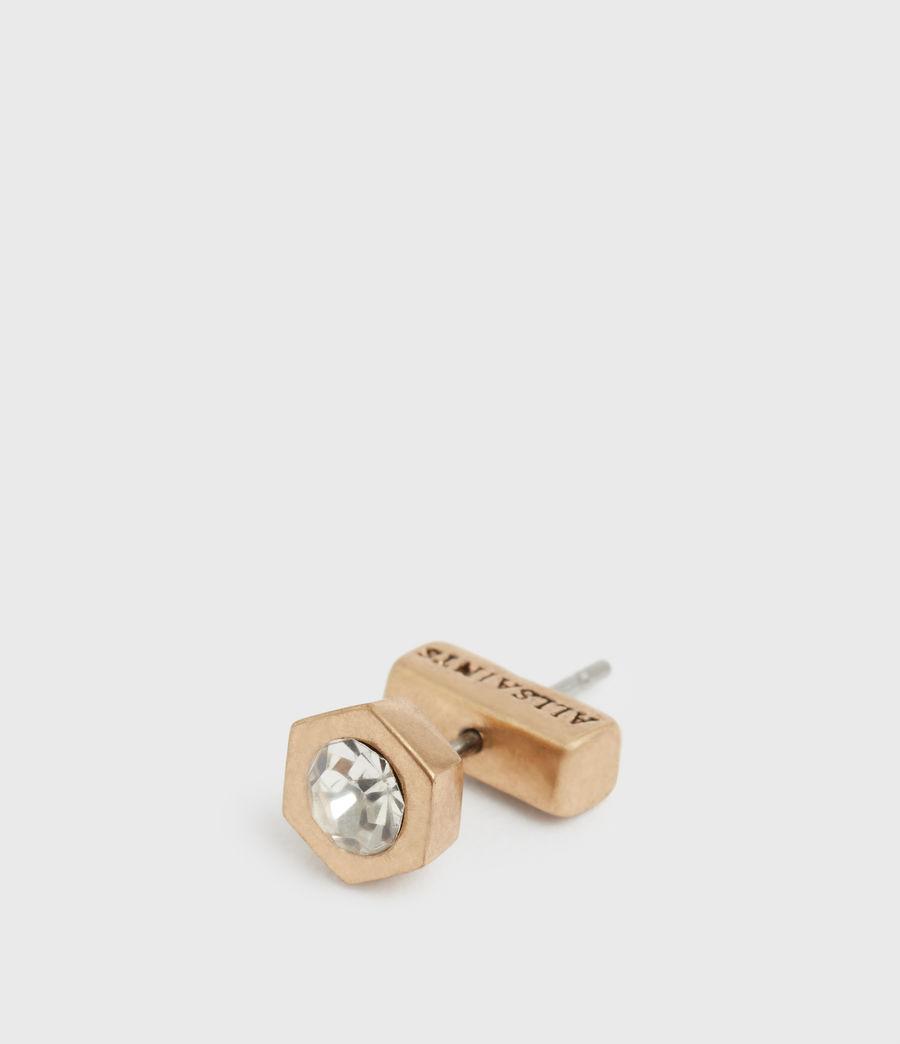 Women's Bijou Gold-Tone Ear Cuff (crystal_warm_brass) - Image 5