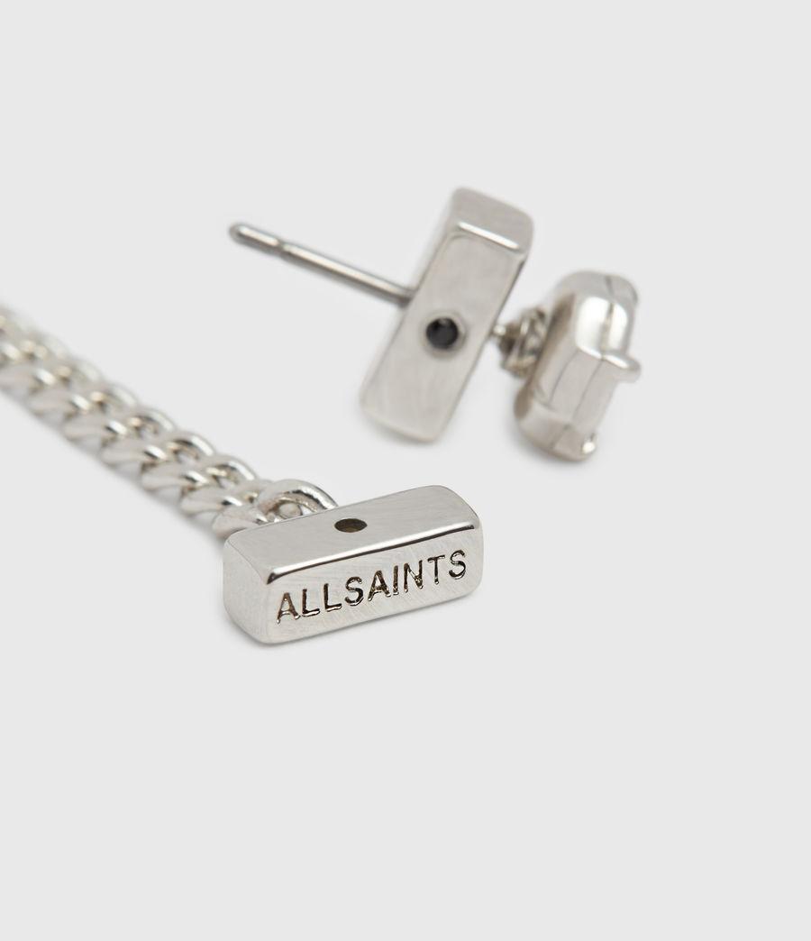 Womens Suri Silver Tone Cubic Zirconia Earring Set (rhodium) - Image 5