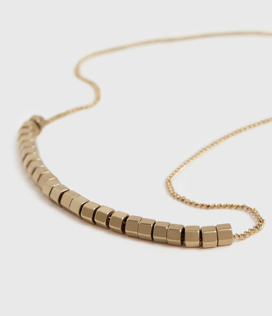 Womens Amur Gold-Tone Necklace (warm_brass) - Image 1