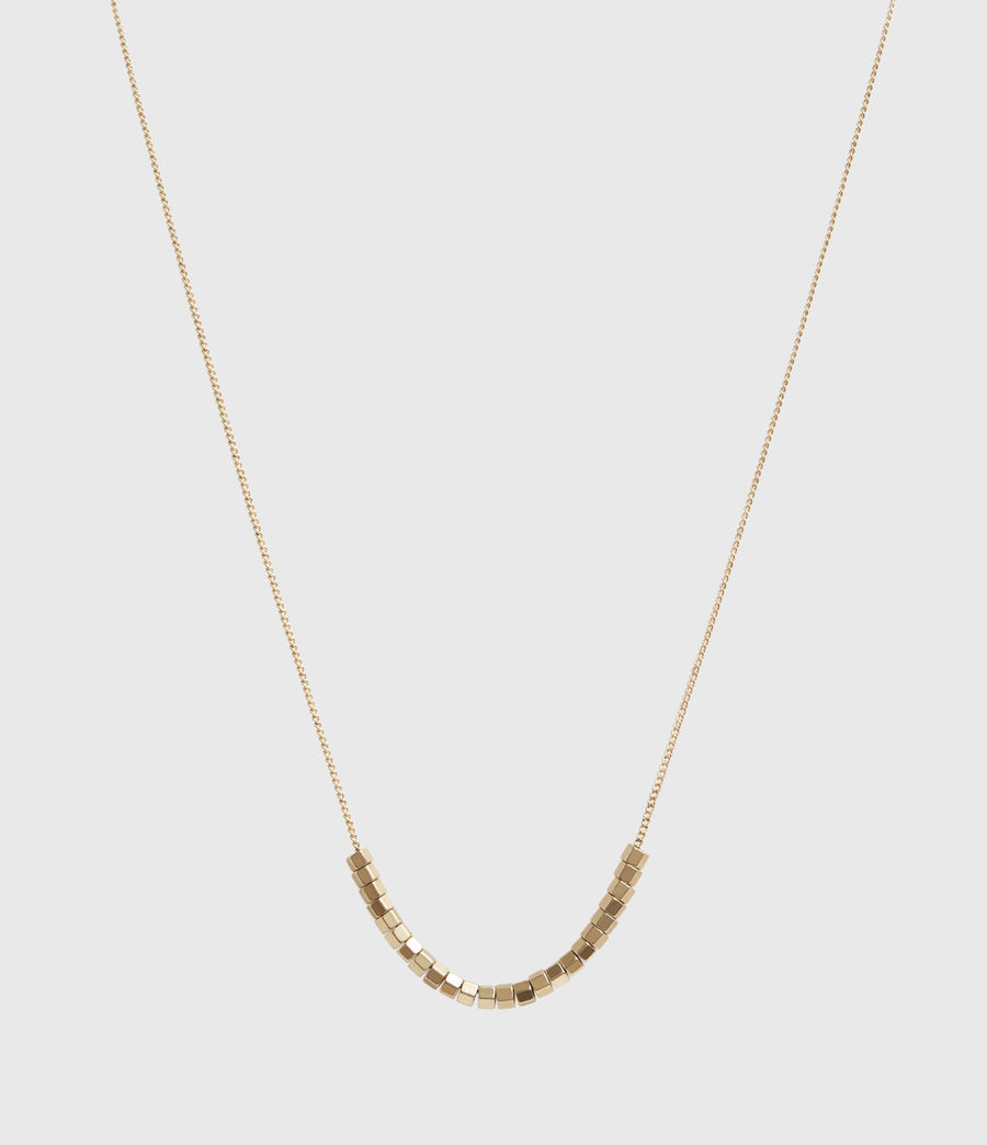 Womens Amur Gold-Tone Necklace (warm_brass) - Image 2
