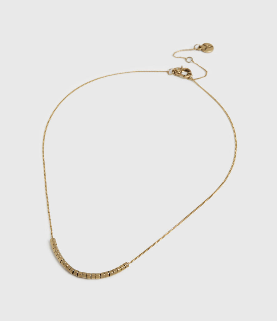 Womens Amur Gold-Tone Necklace (warm_brass) - Image 3