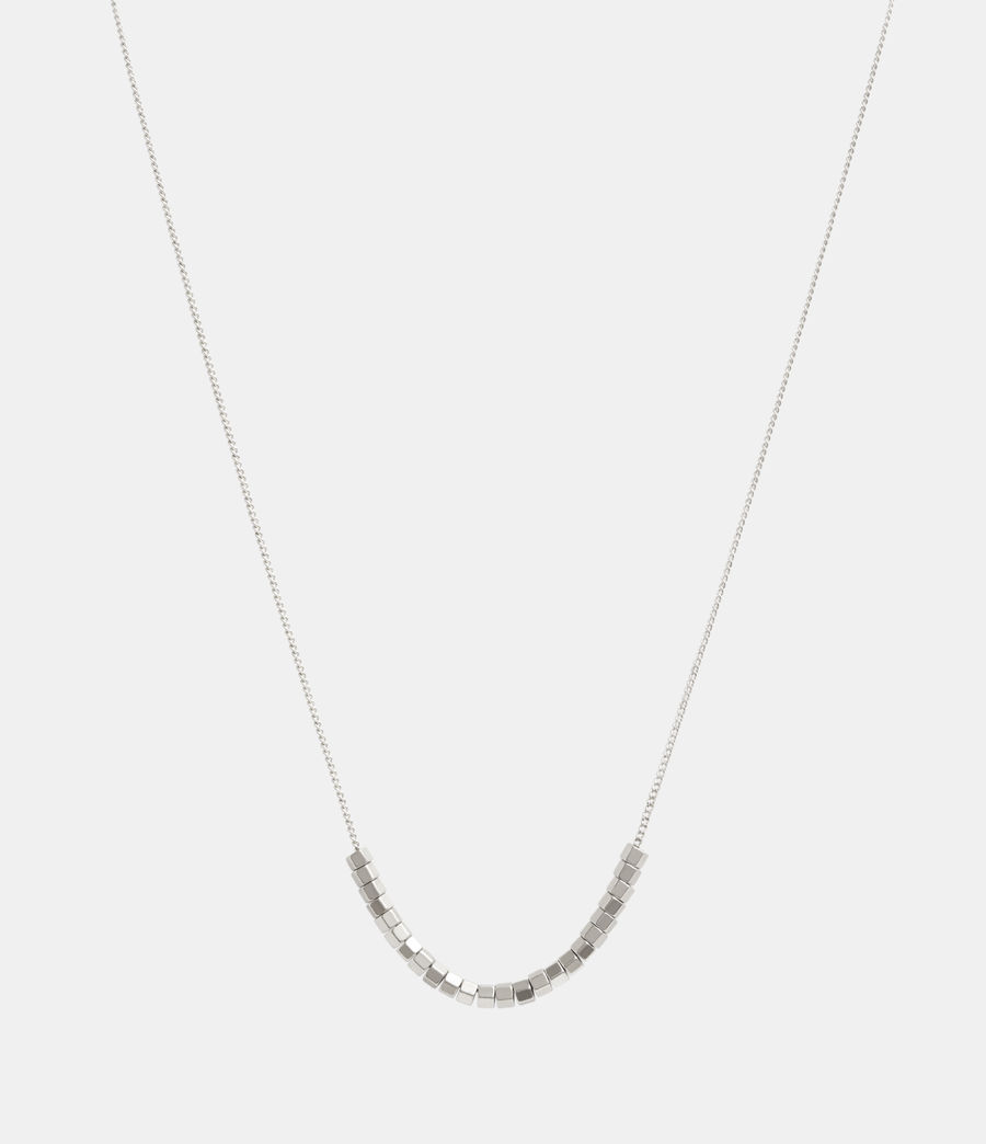 Womens Amur Silver-Tone Necklace (warm_silver) - Image 1