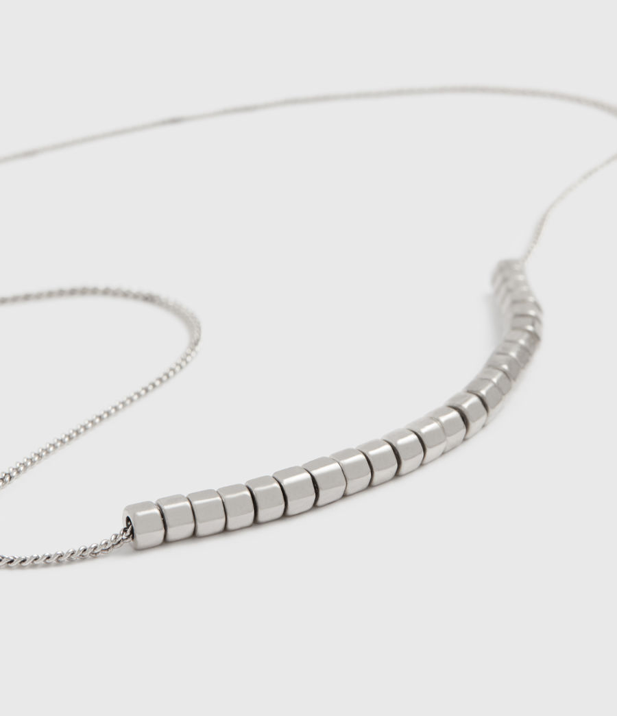 Womens Amur Silver-Tone Necklace (warm_silver) - Image 2