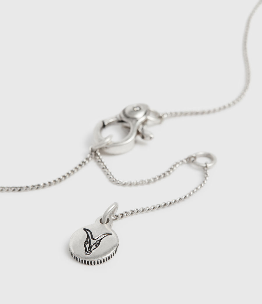 Mujer Amur Silver-Tone Necklace (warm_silver) - Image 4