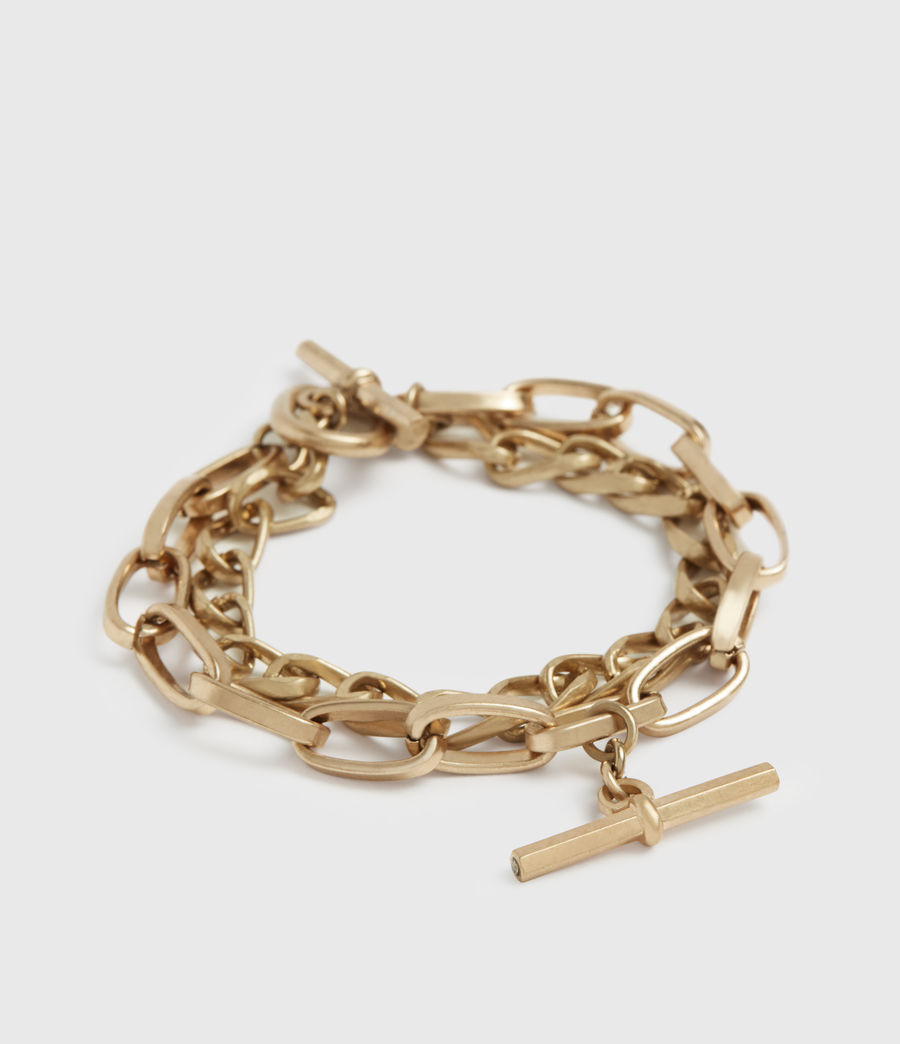 Women's Amur Gold-Tone Bracelet (warm_brass) - Image 1