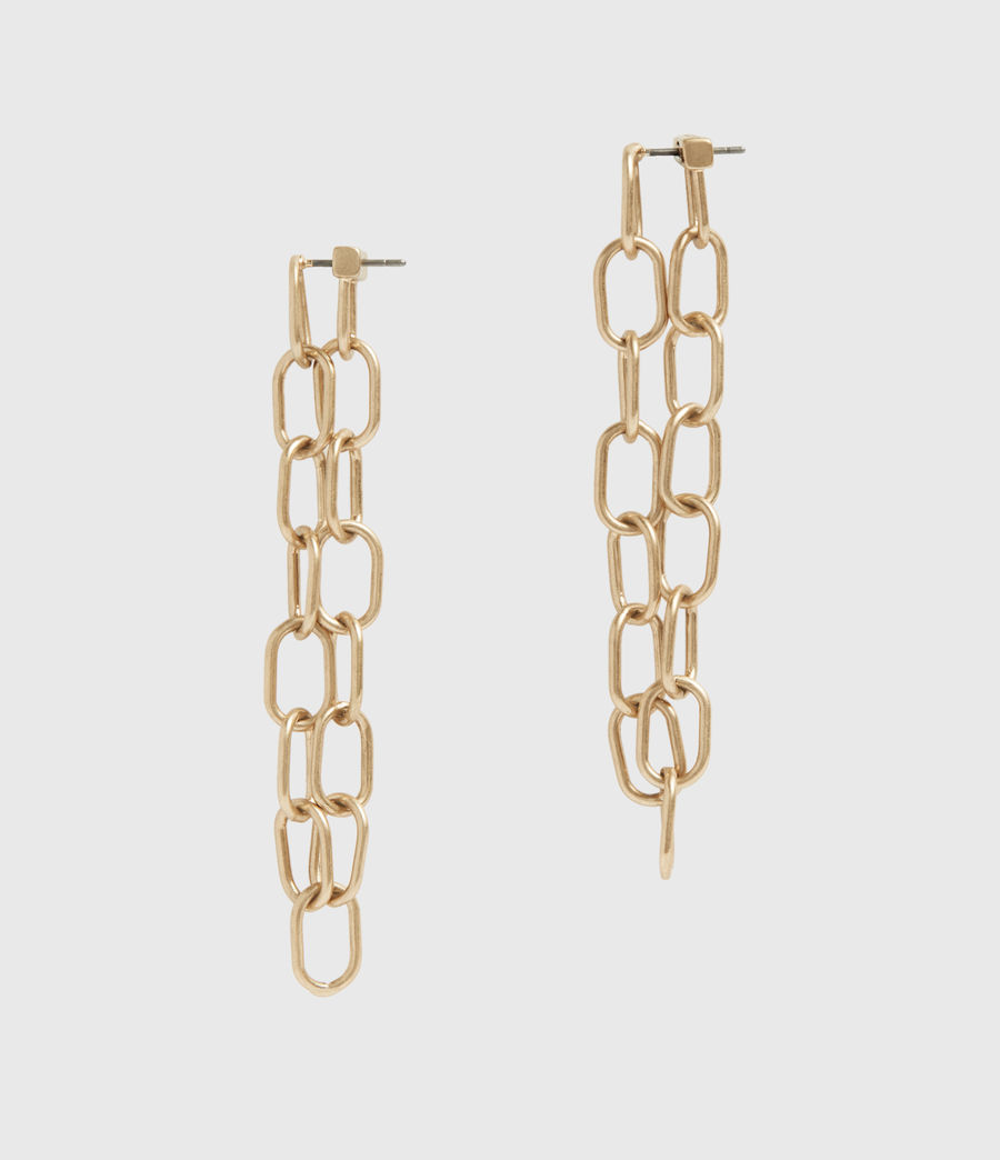 Women's Anadyr Gold-Tone Earrings (warm_brass) - Image 1