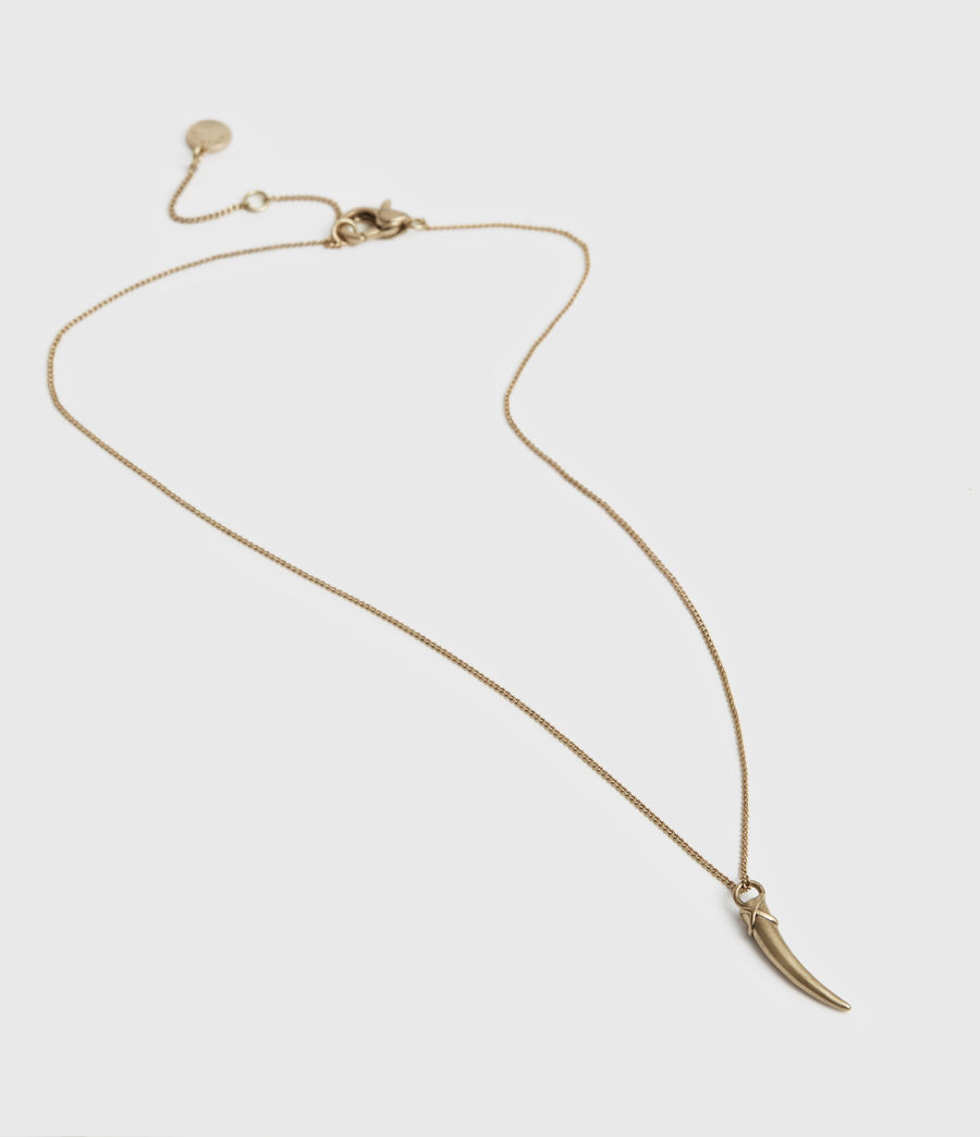 Womens Lerma Gold-Tone Necklace (warm_brass) - Image 2