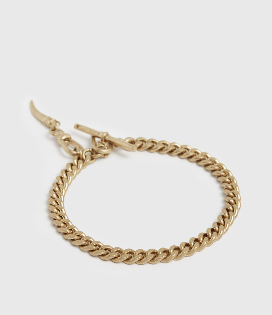 Womens Gila Gold-Tone Bracelet (warm_brass) - Image 3