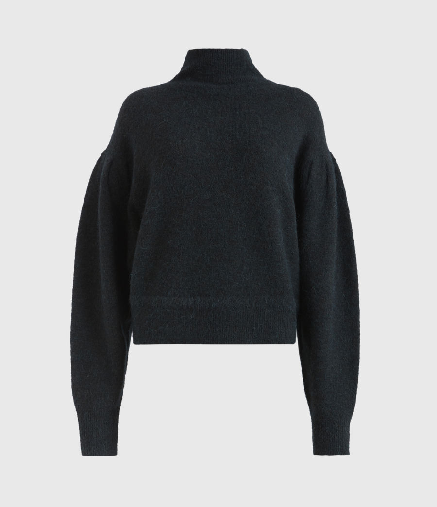Womens Vika Sweater (forest_green) - Image 2
