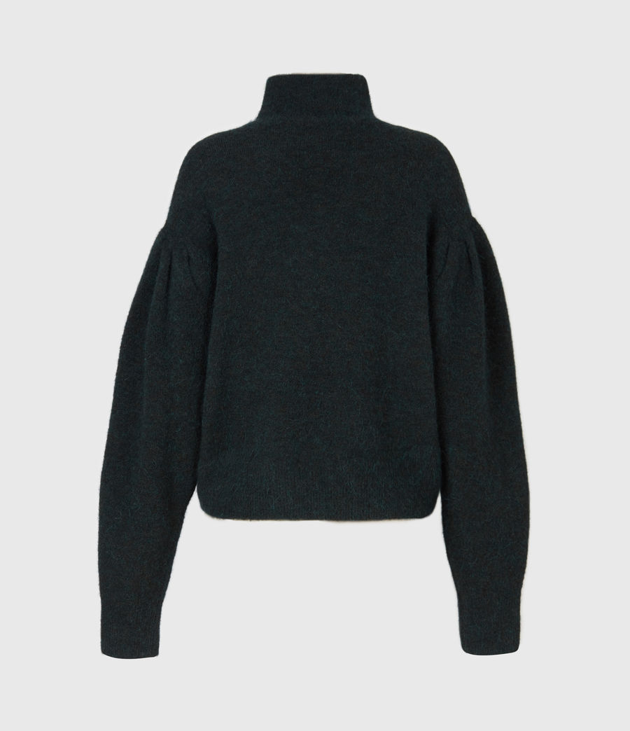 Womens Vika Sweater (forest_green) - Image 3