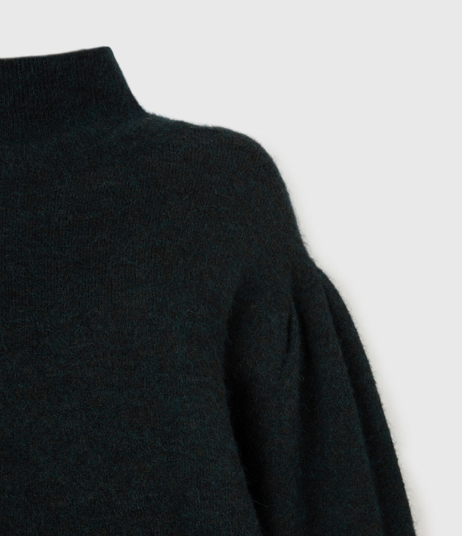 Womens Vika Sweater (forest_green) - Image 4