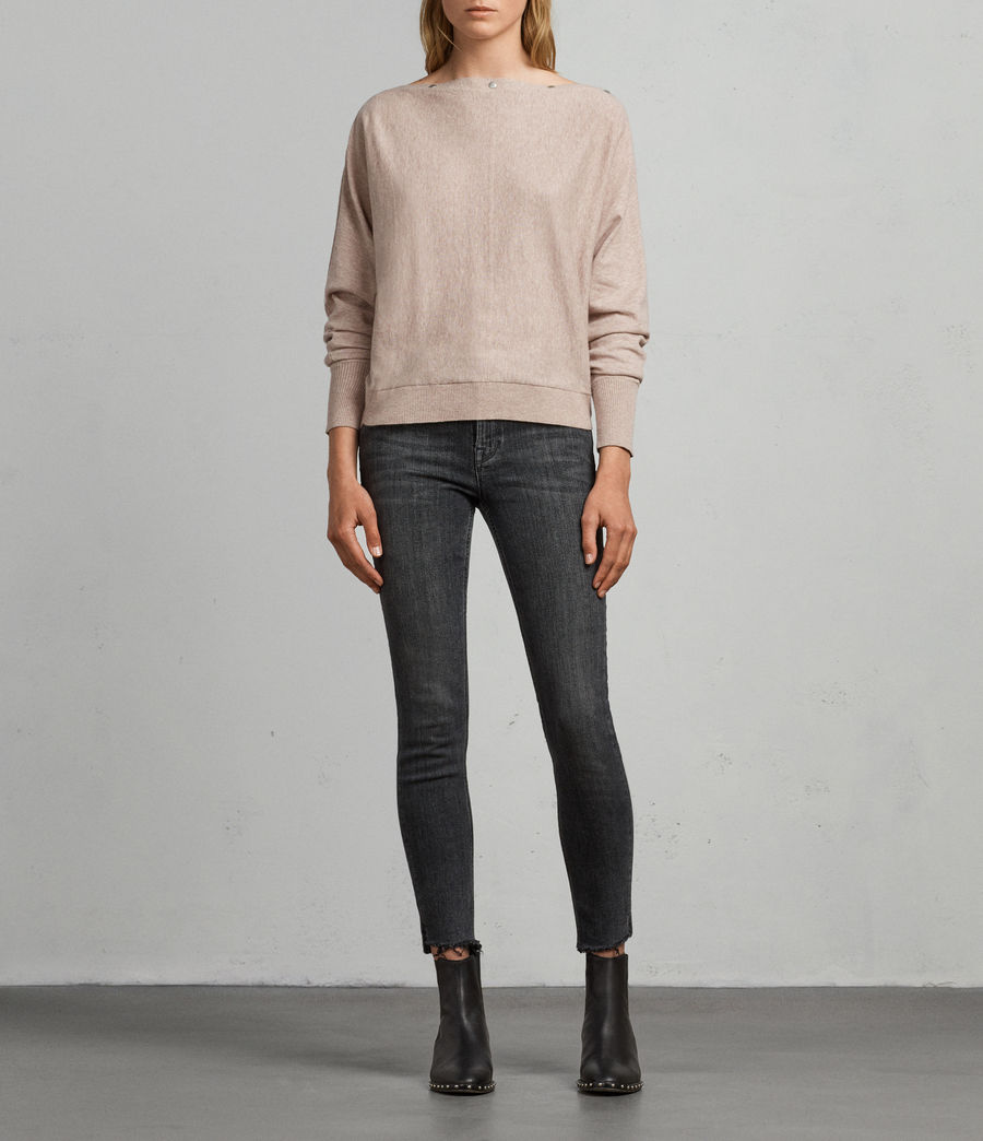 Women's Elle Jumper (whisper_pink) - Image 1