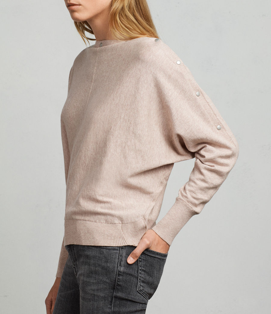 Women's Elle Jumper (whisper_pink) - Image 2