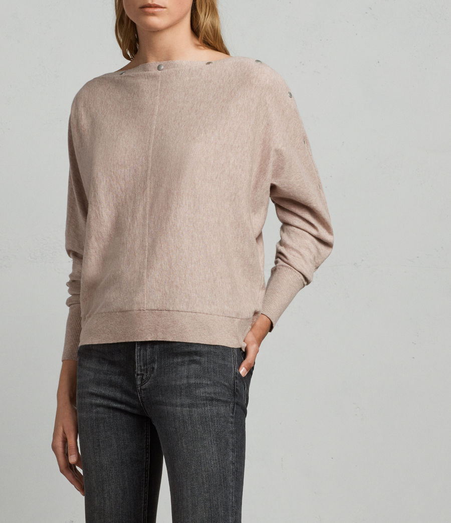 Women's Elle Jumper (whisper_pink) - Image 3