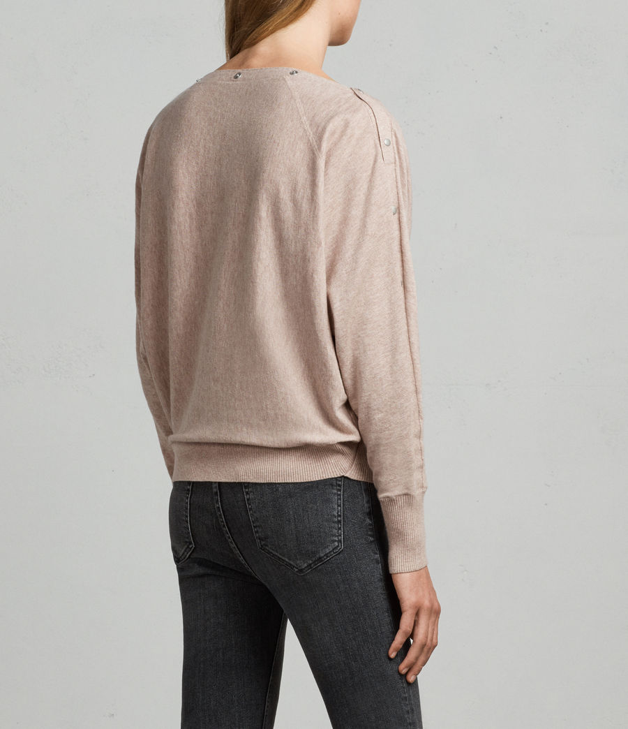 Women's Elle Jumper (whisper_pink) - Image 4