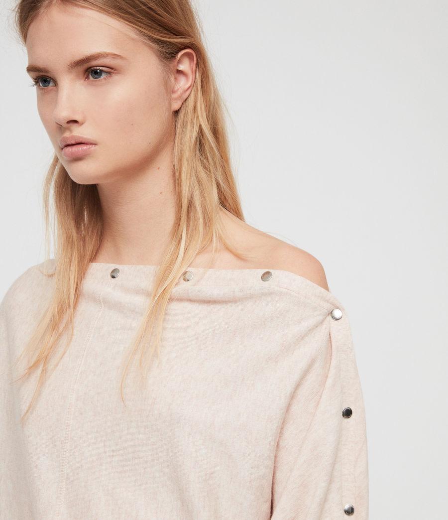 Womens Elle Sweater (petal_pink) - Image 2
