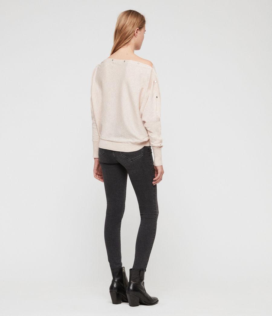 Womens Elle Sweater (petal_pink) - Image 4