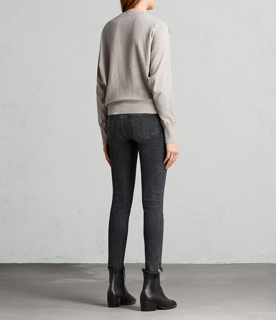 Womens Elle Sweater (grey_marl) - Image 7