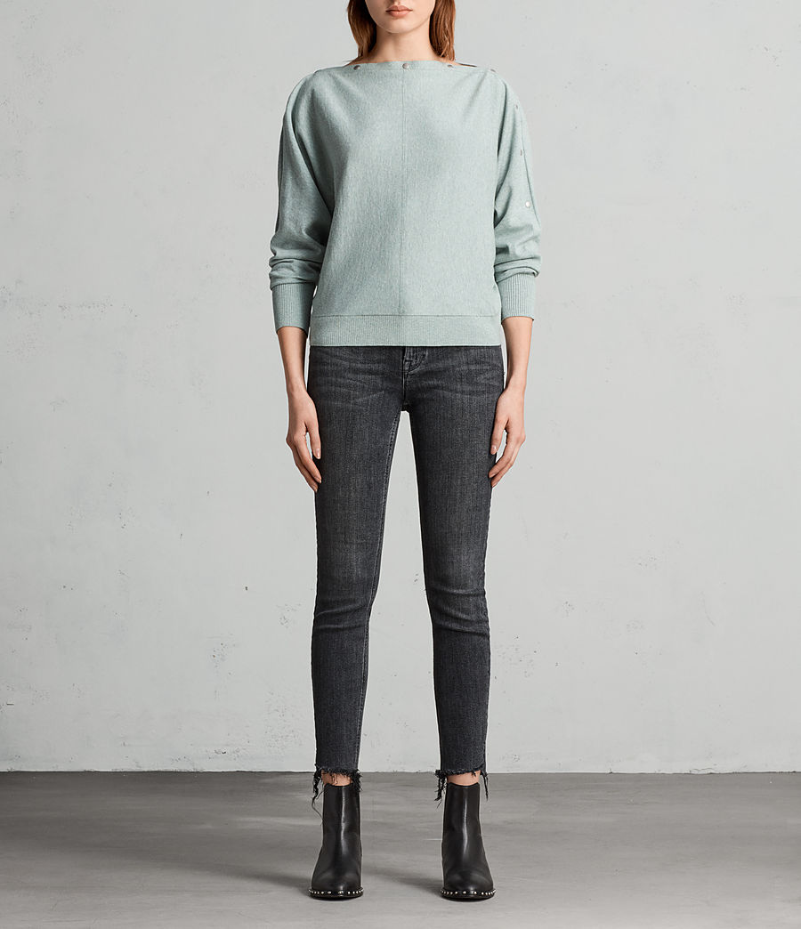 Womens Elle Sweater (grey_marl) - Image 1