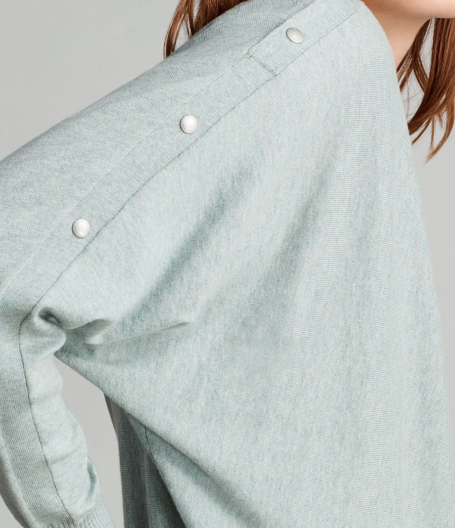 Womens Elle Sweater (grey_marl) - Image 2
