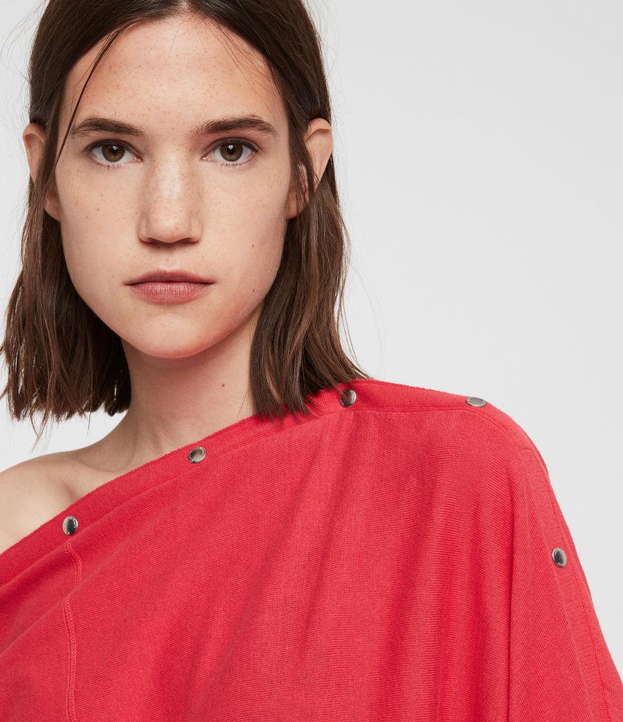 Femmes Pull Elle (flamingo_pink) - Image 2