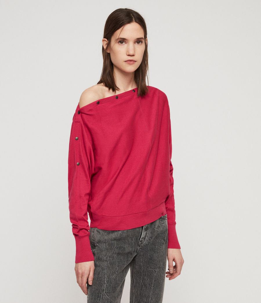 Women's Elle Jumper (black) - Image 4