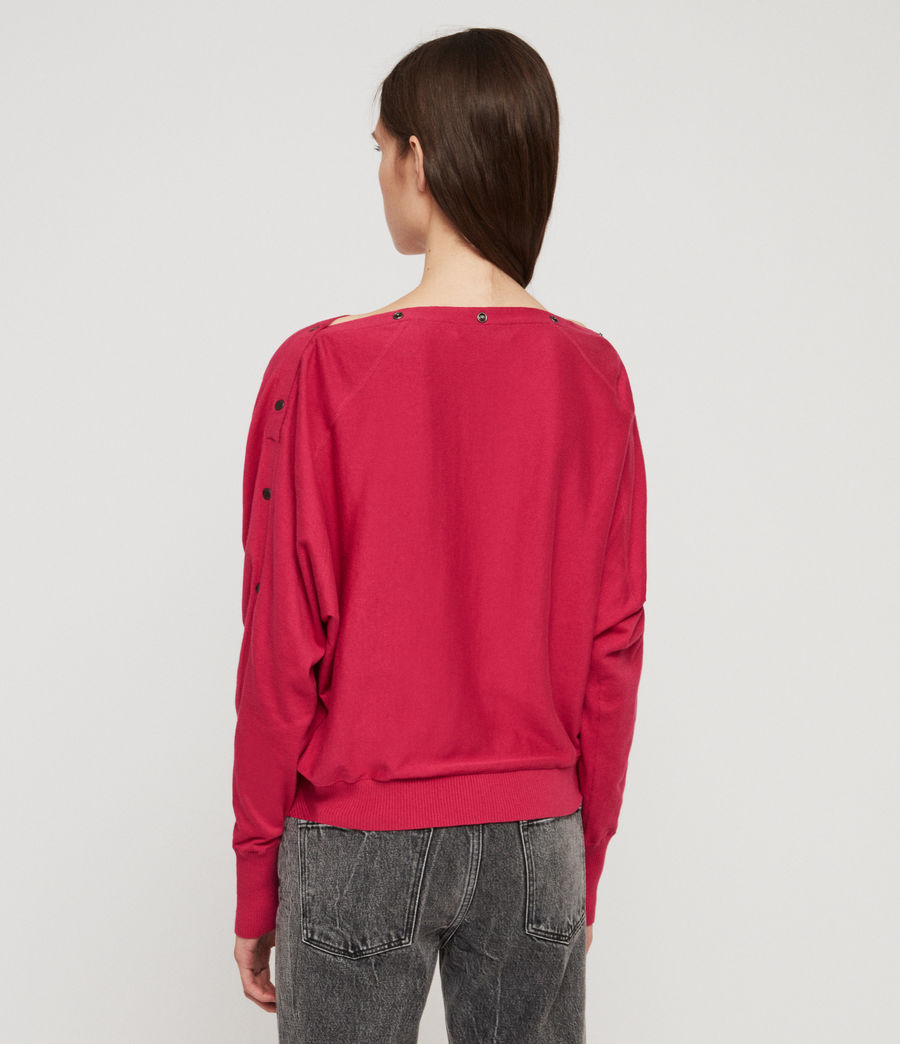 Women's Elle Jumper (black) - Image 6